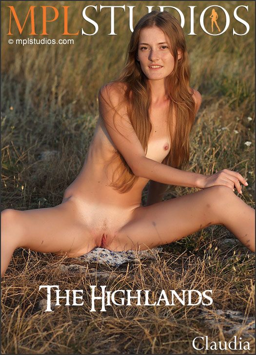 MPLSTUDIOS Claudia in The Highlands  [PHOTOSET FULLRES HD ] PORN RIP