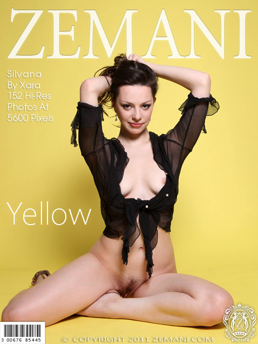ZEMANI Silvana in Yellow  [FULL IMAGESET] PORN RIP
