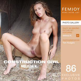 FEMJOY Melissa K. in Construction Girl January 22, 2016 [IMAGESET MP16 NUDEART] PORN RIP