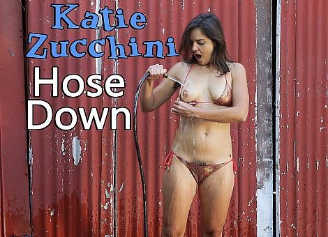 GirlsoutWest Katie Zucchini - Hose Down  [HD 1080p WEBRIP WMV] PORN RIP