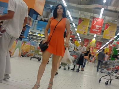 Hunterupskirts Splashy girl in orange  Imageset Siterip 4000px full Archive *jpg* PORN RIP