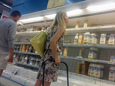 Hunterupskirts Blonde and milk  Imageset Siterip 4000px full Archive *jpg* PORN RIP