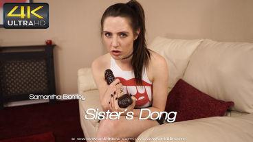 Wankitnow Samantha Bentley  Sisters Dong  SITERIP VIDEO PORN RIP
