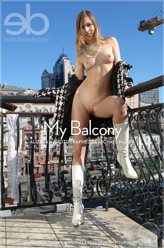 Erotic-Beauty Alizeya A in My Balcony  Siterip Imageset Erotic-Beauty.com PORN RIP