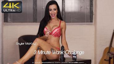 Wankitnow Skyler McKay  3 Minute Wank Challenge  SITERIP VIDEO PORN RIP