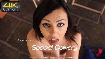 Wankitnow Kacie James  Special Delivery  SITERIP VIDEO PORN RIP