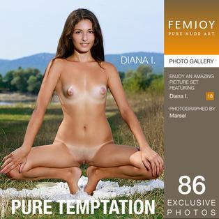 FEMJOY Diana I. in Pure Temptation January 2, 2017 [IMAGESET MP16 NUDEART] PORN RIP