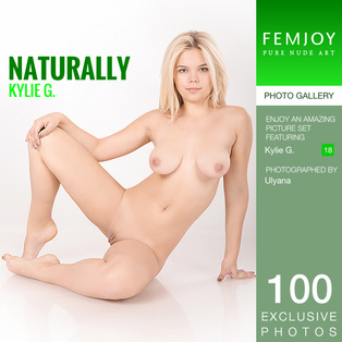 FEMJOY Kylie G. in Naturally January 4, 2017 [IMAGESET MP16 NUDEART] PORN RIP