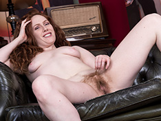 WeareHairy Annie M Annie M strips naked on her leather sofa  [FULL PICSET Highres WEBRIP] PORN RIP