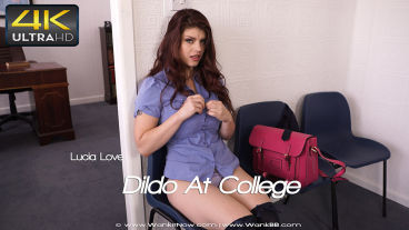Wankitnow Lucia Love  Dildo At College  SITERIP VIDEO PORN RIP