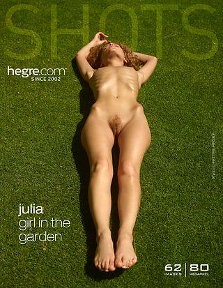 Hegre-Art Julia girl in the garden  [Siterip FULL VIDEO/IMAGESET] PORN RIP