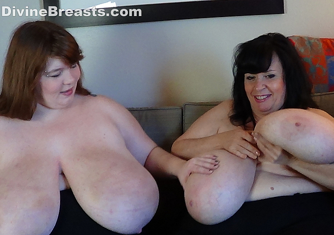 DivineBreasts Lexxxi Luxe and Suzie 44K Show and Tell  SITERIP BBW.XXX Divinebreasts PORN RIP