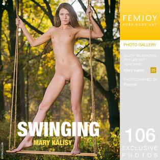 FEMJOY Mary Kalisy in Swinging February 22, 2017 [IMAGESET MP16 NUDEART] PORN RIP