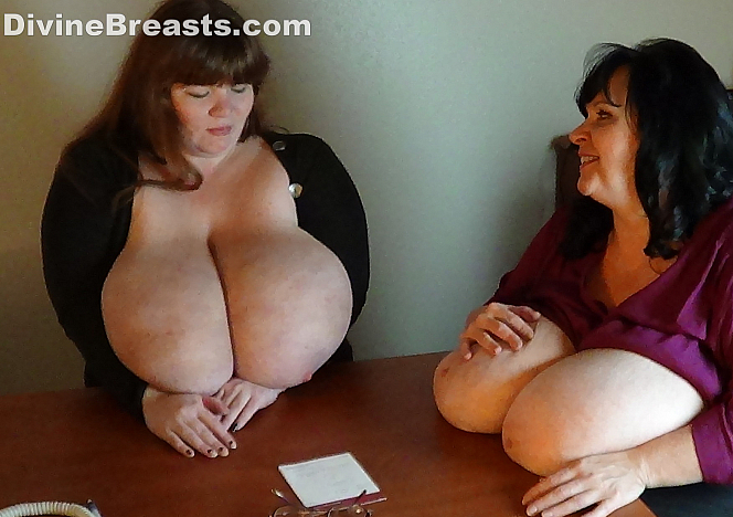 DivineBreasts Suzie and Lexxxi Compare Boobs  SITERIP BBW.XXX Divinebreasts PORN RIP