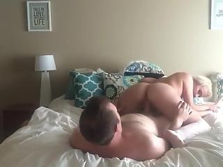 YourVoyeurVideos  Wife wearing a white corset rides her man's dick PaysiteRip VoyeurXXX PORN RIP