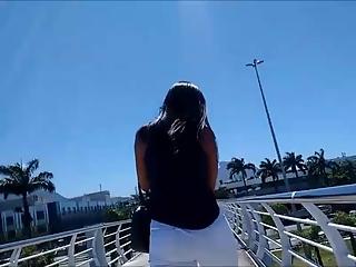 YourVoyeurVideos  Brunette chick in tight white jeans PaysiteRip VoyeurXXX PORN RIP