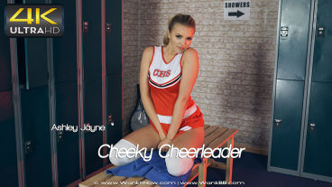 Wankitnow Ashley Jayne  Cheeky Cheerleader  SITERIP VIDEO PORN RIP