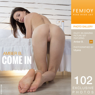 FEMJOY Amber B. in Come In March 7, 2017 [IMAGESET MP16 NUDEART] PORN RIP
