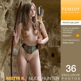 FEMJOY Nastya H. in Nude Hunter March 11, 2017 [IMAGESET MP16 NUDEART] PORN RIP