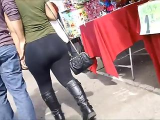 YourVoyeurVideos  Big ass woman in black leggings PaysiteRip VoyeurXXX PORN RIP