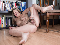 WeareHairy Alicia Silver Alicia Silver strips naked on her chair  [FULL PICSET Highres WEBRIP] PORN RIP