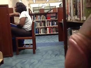 YourVoyeurVideos  Black dude masturbates in library PaysiteRip VoyeurXXX PORN RIP