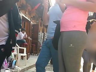 YourVoyeurVideos  Nice ass and cameltoe on chick wearing gray leggings PaysiteRip VoyeurXXX PORN RIP