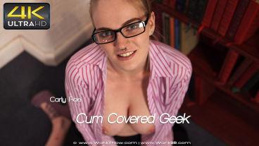 Wankitnow Carly Rae  Cum Covered Geek  SITERIP VIDEO PORN RIP