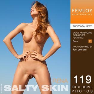 FEMJOY Rena in Salty Skin May 29, 2017 [IMAGESET MP16 NUDEART] PORN RIP