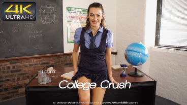 Wankitnow Laura  College Crush  SITERIP VIDEO PORN RIP