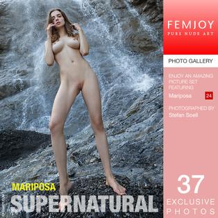 FEMJOY Mariposa in Supernatural May 27, 2017 [IMAGESET MP16 NUDEART] PORN RIP