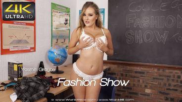 Wankitnow Yasmin Grayce  Fashion Show  SITERIP VIDEO PORN RIP