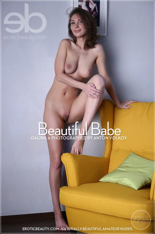 Erotic-Beauty Galina A in Beautiful Babe  Siterip Imageset Erotic-Beauty.com PORN RIP