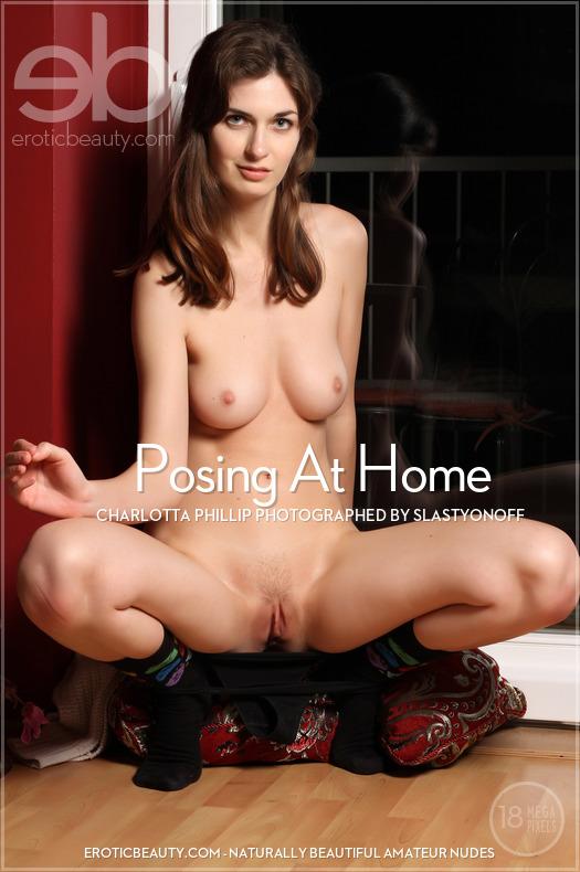 Erotic-Beauty Charlotta Phillip in Posing At Home  Siterip Imageset Erotic-Beauty.com PORN RIP