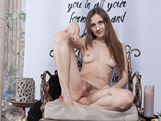 WeareHairy Victoria Victoria takes off her sexy black dress  [FULL PICSET Highres WEBRIP] PORN RIP