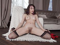 WeareHairy Ksenia Yankovskaya Ksenia Yankovskaya takes off her red lingerie  [FULL PICSET Highres WEBRIP] PORN RIP