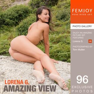 FEMJOY Lorena G. in Amazing View June 6, 2017 [IMAGESET MP16 NUDEART] PORN RIP