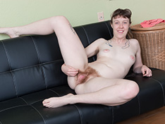 WeareHairy Roxanne Roxanne strips naked on her black couch  [FULL PICSET Highres WEBRIP] PORN RIP