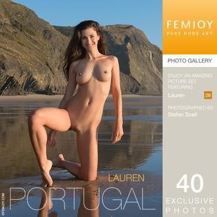 FEMJOY Lauren in Portugal June 10, 2017 [IMAGESET MP16 NUDEART] PORN RIP