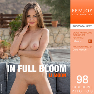 FEMJOY Li Moon in In Full Bloom July 16, 2017 [IMAGESET MP16 NUDEART] PORN RIP