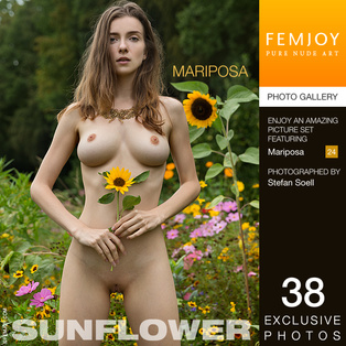 FEMJOY Mariposa in Sunflower July 8, 2017 [IMAGESET MP16 NUDEART] PORN RIP