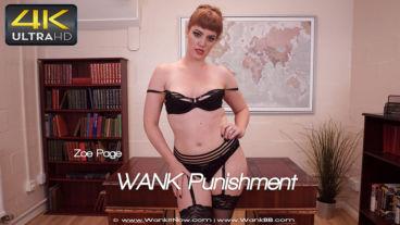 Wankitnow Zoe Page  WANK Punishment  SITERIP VIDEO PORN RIP