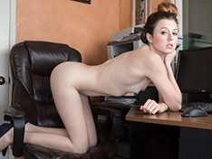 WeareHairy Cassidy Bliss Cassidy Bliss strips naked in her office  [FULL PICSET Highres WEBRIP] PORN RIP