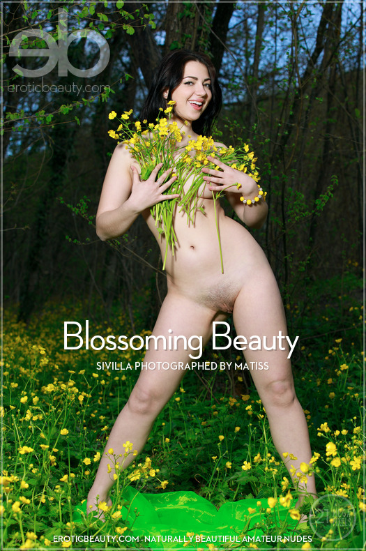 Erotic-Beauty Sivilla in Blossoming Beauty  Siterip Imageset Erotic-Beauty.com PORN RIP