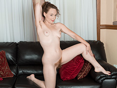 WeareHairy Ana Molly Ana Molly strips naked while doing stretches  [FULL PICSET Highres WEBRIP] PORN RIP