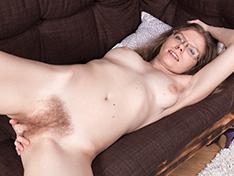 WeareHairy Ekaterina Ananasova Ekaterina Ananasova masturbates on her couch  [FULL PICSET Highres WEBRIP] PORN RIP