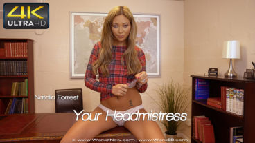 Wankitnow Natalia Forrest  Your Headmistress  SITERIP VIDEO WEB-DL
