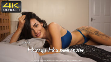 Wankitnow Laura  Horny Housemate  SITERIP VIDEO WEB-DL