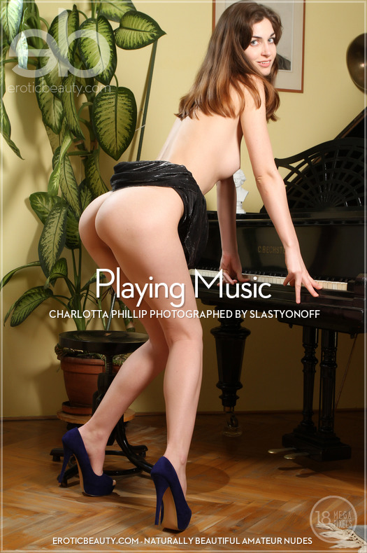 Erotic-Beauty Charlotta Phillip in Playing Music  Siterip Imageset Erotic-Beauty.com WEB-DL