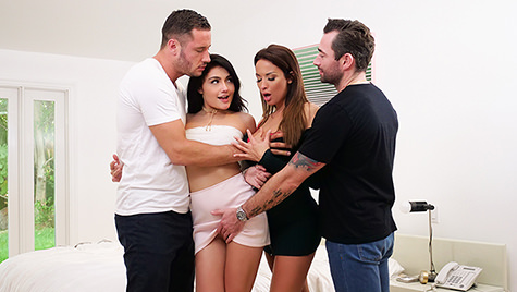 Spyfam SpyFam presents Thanksgiving Family Fuckfest featuring Adria Rae & Anissa Kate posted November 20, 2017  Video 720p x264 mp4 PORN RIP